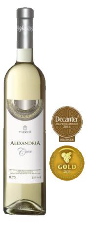 tikves alexandria cuvee witte wijn