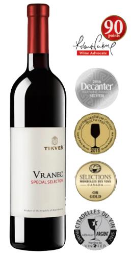tikves vranec special selection rode wijn
